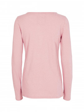 Mos Mosh Troy Tee L/S - Rose