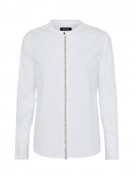 Mos Mosh Maggie shine shirt - White