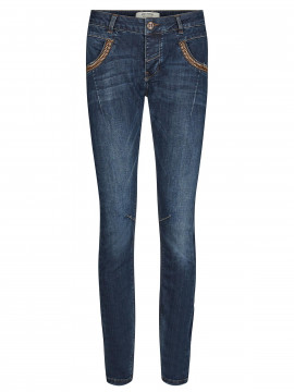Mos Mosh Naomi Feather jeans - Blue denim