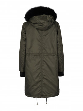 Mos Mosh Carrie Parca jacket - Army