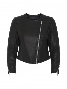 Mos Mosh Meera leather jacket - Black