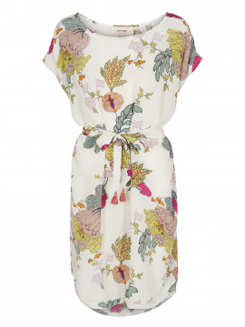 Mos Mosh Heather ava dress - Offwhite flower