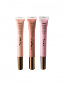 Mos Mosh Lip gloss - Heart / nude