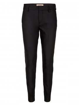 Mos Mosh Abbey night pant sustainable - Black