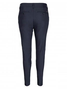 Mos Mosh Milton night pant sustainable - Navy