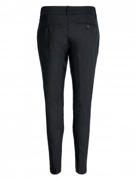 Mos Mosh Milton night pant sustainable - Black