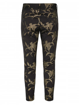 Mos Mosh Tuxen gold pant - Black