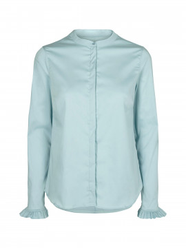 Mos Mosh Mattie Sustainable shirt - Mint Haze