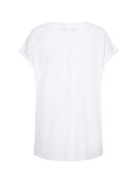 Mos Mosh Dion S/S Tee - White