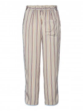 Mos Mosh Sally river pant - Light blue stripe