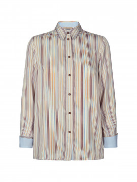 Mos Mosh Jodie river shirt - Light blue stripe