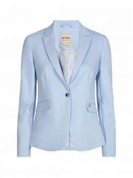 Mos Mosh Blake night sustainable blazer - Chambray blue