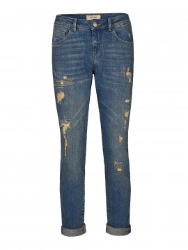 Mos Mosh Bradford worked jeans - Blue