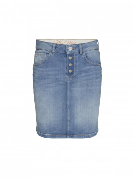 Mos Mosh Ava breeze denim skirt - Blue