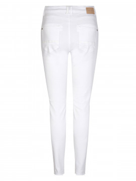 Mos Mosh Naomi novel ankle jeans - White