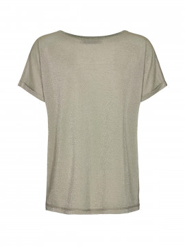 Mos Mosh Kay O-neck tee - Oil green