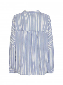 Mos Mosh Hessa stelo stripe top - Blue