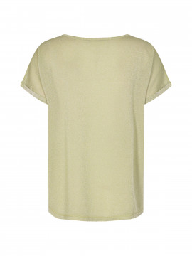 Mos Mosh Kay O-neck Tee - Winter pear