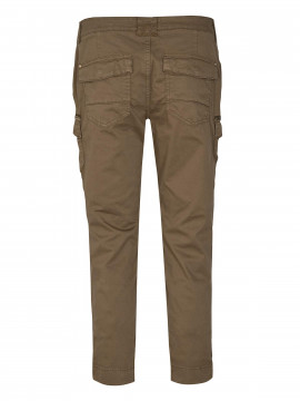 Mos Mosh Camille cargo cropped pant - Army