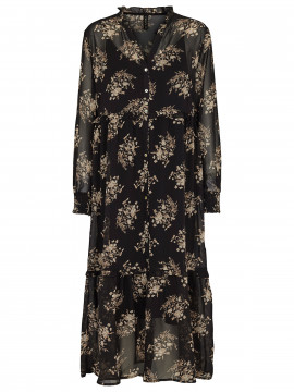 Prepair Josefine flower dress - Black