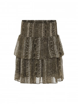 Costamani Skotty snake skirt - Army