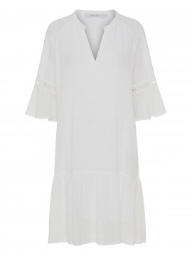 Costamani Mette dress - White tape