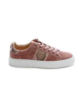 Philip Hog Mia suede sneakers - Winter rose