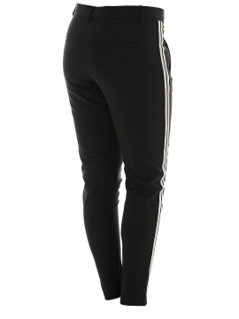 CS#15 Shane pant - Black v/silver stripe