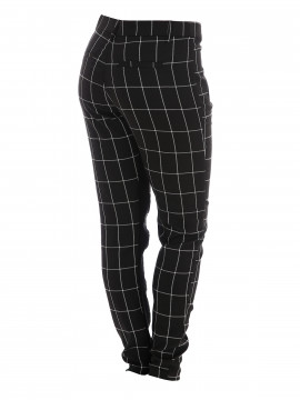 CS#15 Windowpane pant - Black