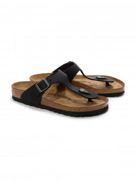 Birkenstock Gizeh leather N sandal - Black