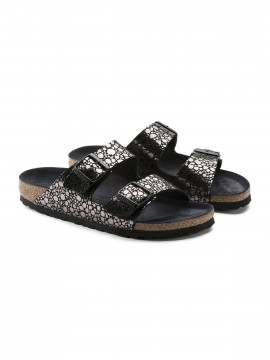 Birkenstock Arizona BF Narrow sandal - Metallic stones black
