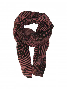 Black Colour Space scarf - Marsale