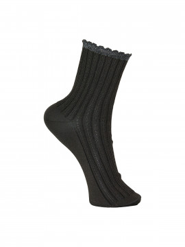 Black Colour Chic sock - Dark grey