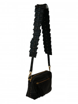 Black Colour Frill strap (skulderrem)