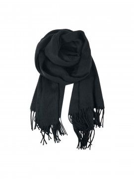 Black Colour Wonder scarf - Black