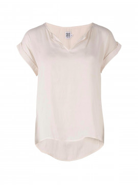 Saint Tropez Sally S/S top - Offwhite