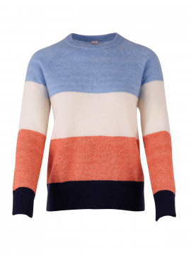Saint tropez Lara stripe knit - Pl. Blue