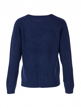 Saint tropez Loui V-neck knit - Blue