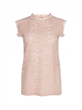 One Two Ady lace top - Vintage rose