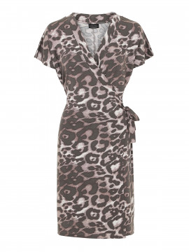 One Two Luxzuz Chanett Leo dress - Vintage rose