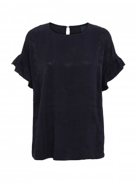 One Two Luxzuz Aleksandra top - Navy