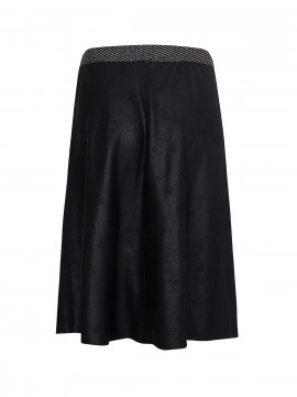 One Two Luxzuz Madelon costed skirt - Black