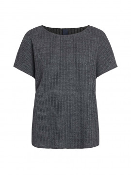 One Two Luxzuz Tabia knit - Medium grey melange