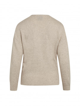 One Two Luxzuz Taimi L/S knitwear - Sahara
