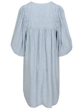 One Two Luxzuz Aishani small flower dress - Heavenly blue