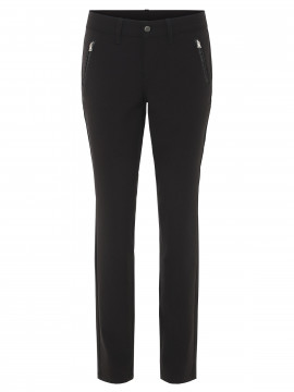 Jonny Q Vanessa soft bistretch pant - Black