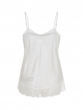 Fashion by Blue Noomi strap top - Sand