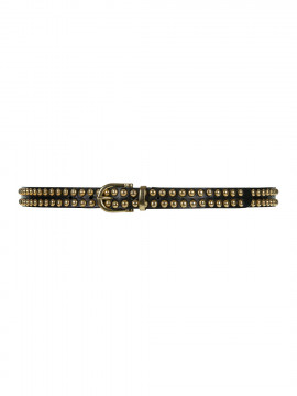 Depeche Fanny narrow studs belt - Gold