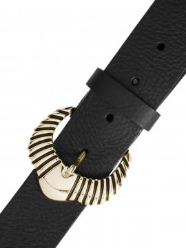 Depeche Noa western belt - Black / gold