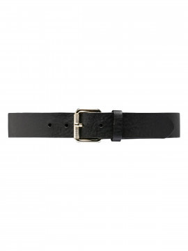 Depeche Mira wide jeans belt - Black/gold
